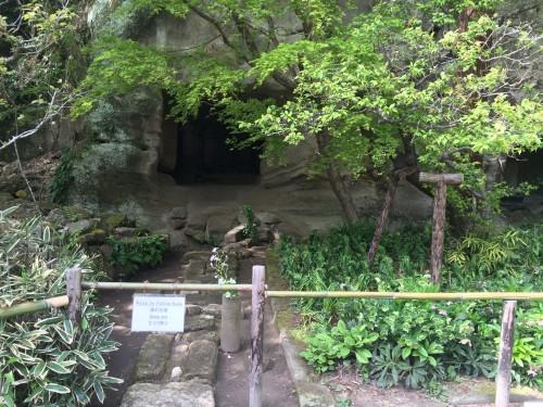 Grotto grave in Kamakura