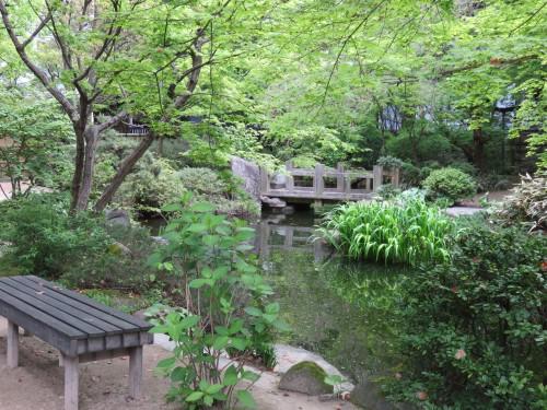 Rakusuien garden, Hakata