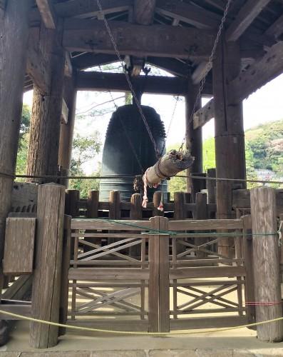 temple bell of Engaku-ji
