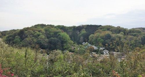 landscape view from Engaku-ji temple