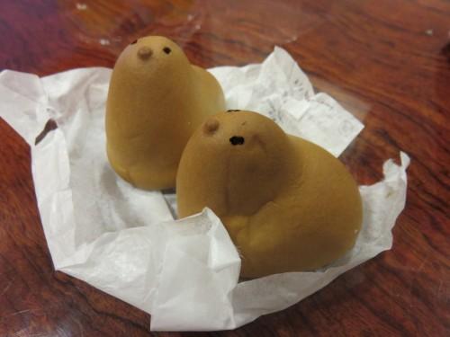 Hiyoko cakes, a Fukuoka speciality