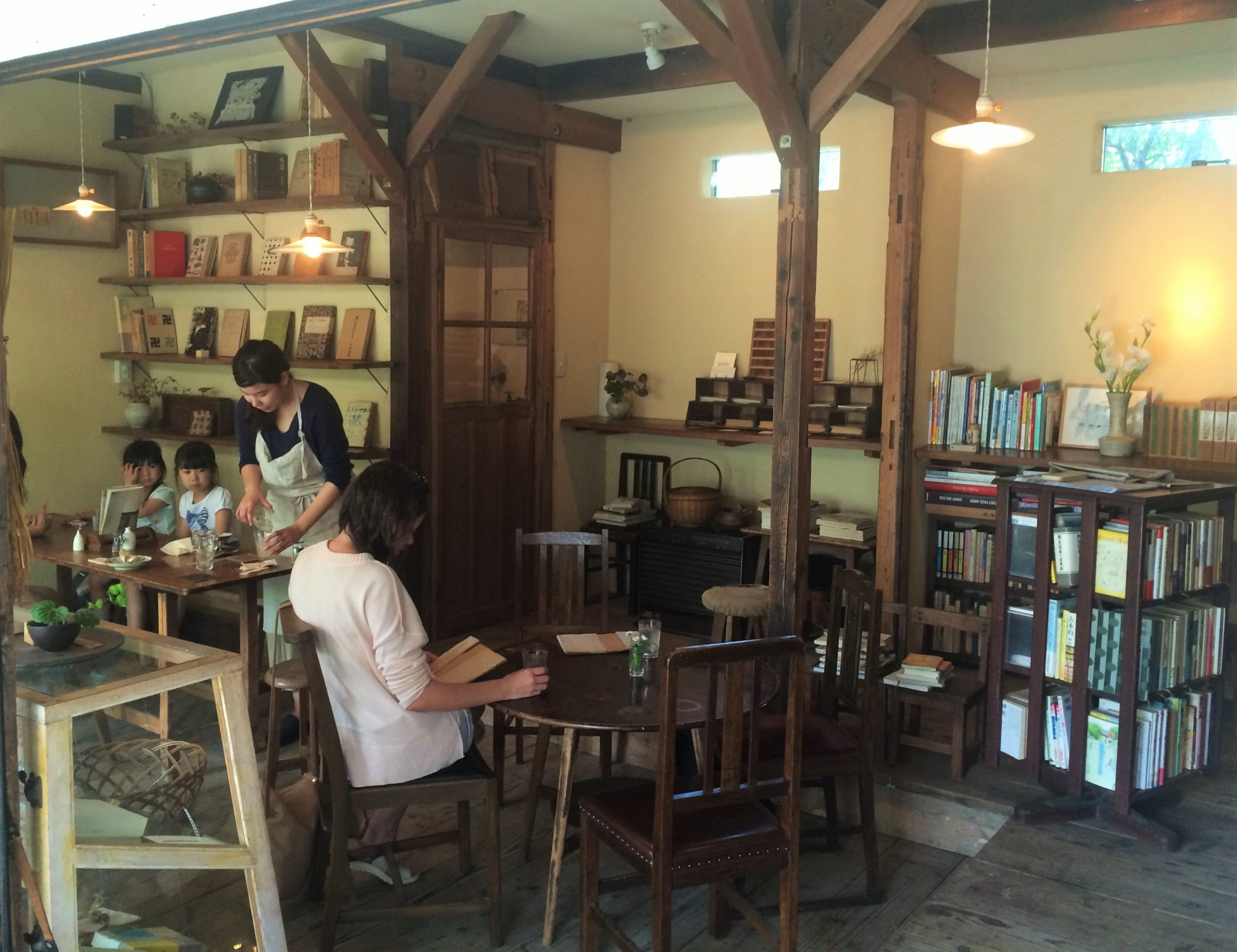 A cafe with a nice blend of tranquility and tradition, Kamakura