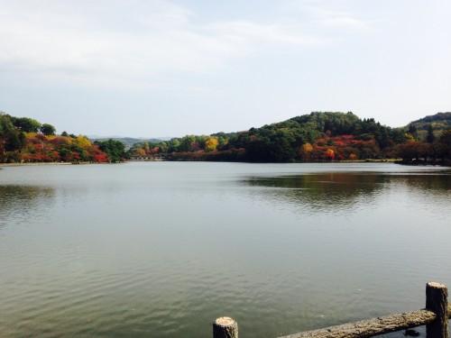 Takamatsu pond in Morioka