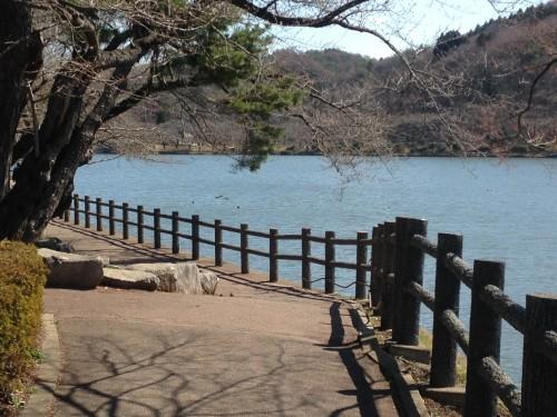 stroll around Takamatsu pond in Morioka
