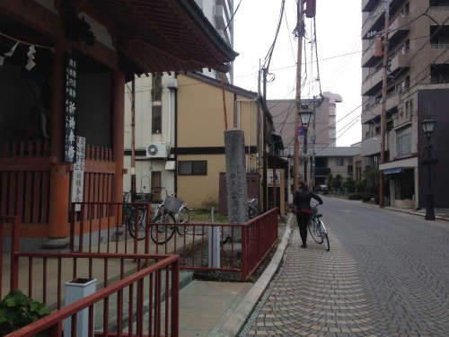 street where vegetarian/vegan restaurant in Morioka serves macrobiotic food