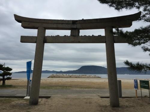Megijima participate in the Setouchi art Festival, on a misty morning