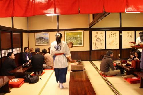 wanko soba restaurant, Morioka