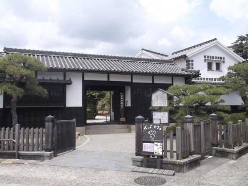 more Japanese Architecture in Kurashiki in Okayama, Japan and Achi Shrine