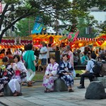 Rokugatsudo, a summer festival unique to Kagoshima