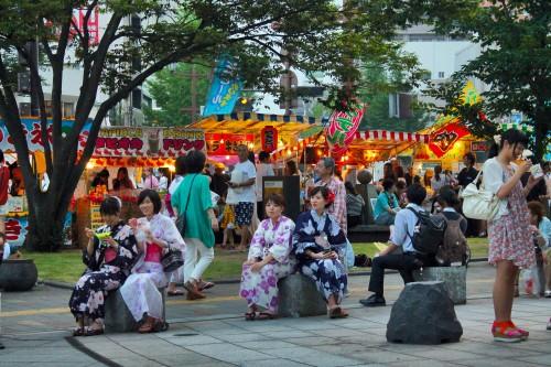 Rokugatsudo festival in Kagoshima.
