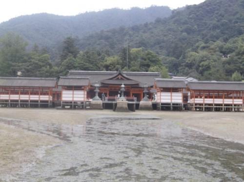 Shinto shrine in Miyajima Island