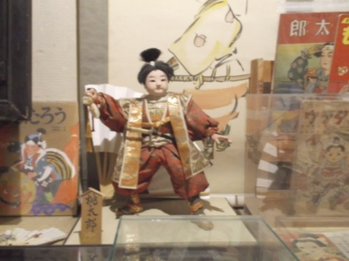 doll in Momotaro Museum in Okayama