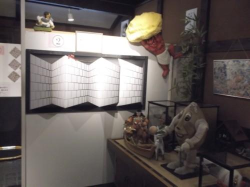 Momotaro Museum in Okayama with varioud figures