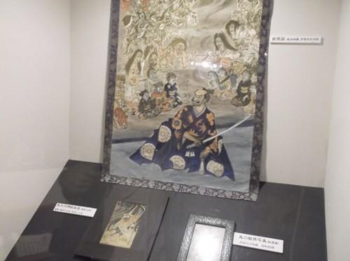 painting in Momotaro Museum in Okayama
