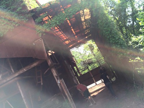 abandoned ocher factory in Okayama.