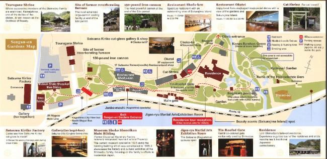 Map of Senga-en.