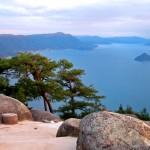 Views of Seto Sea and Nature from Shishiiwa Observatory