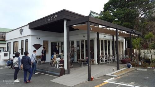 restaurant in Enoshima that sells shirasudon