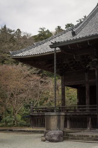 Myohonji Temple building showing its history.