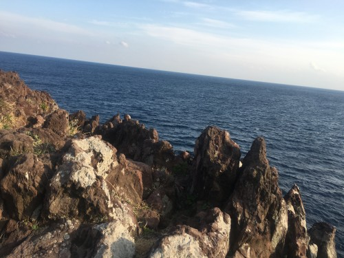 The gorgeous rocks of Jogasaki Shizuoka provide some of the most thrilling nature scenery