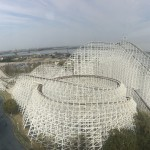 White Cyclone, A Legendary Wooden Roller Coaster in Japan