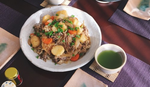 Nikujaga is one of japanese cuisine most of japanese love eating