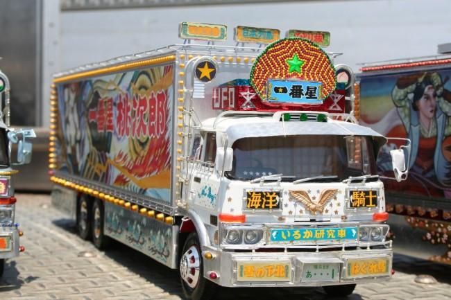 Japanese Dekotora trucks are a niche community
