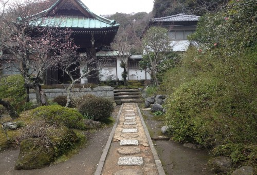 Garden at Kaizō-ji Temple on Kamakura outskirts, Kamakura history