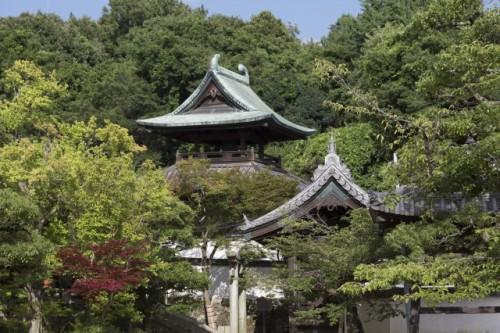 Achi Shrine entrance in Kurashiki , Okayama, Japan