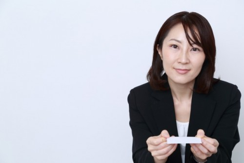 Japanese etiquette with business greetings