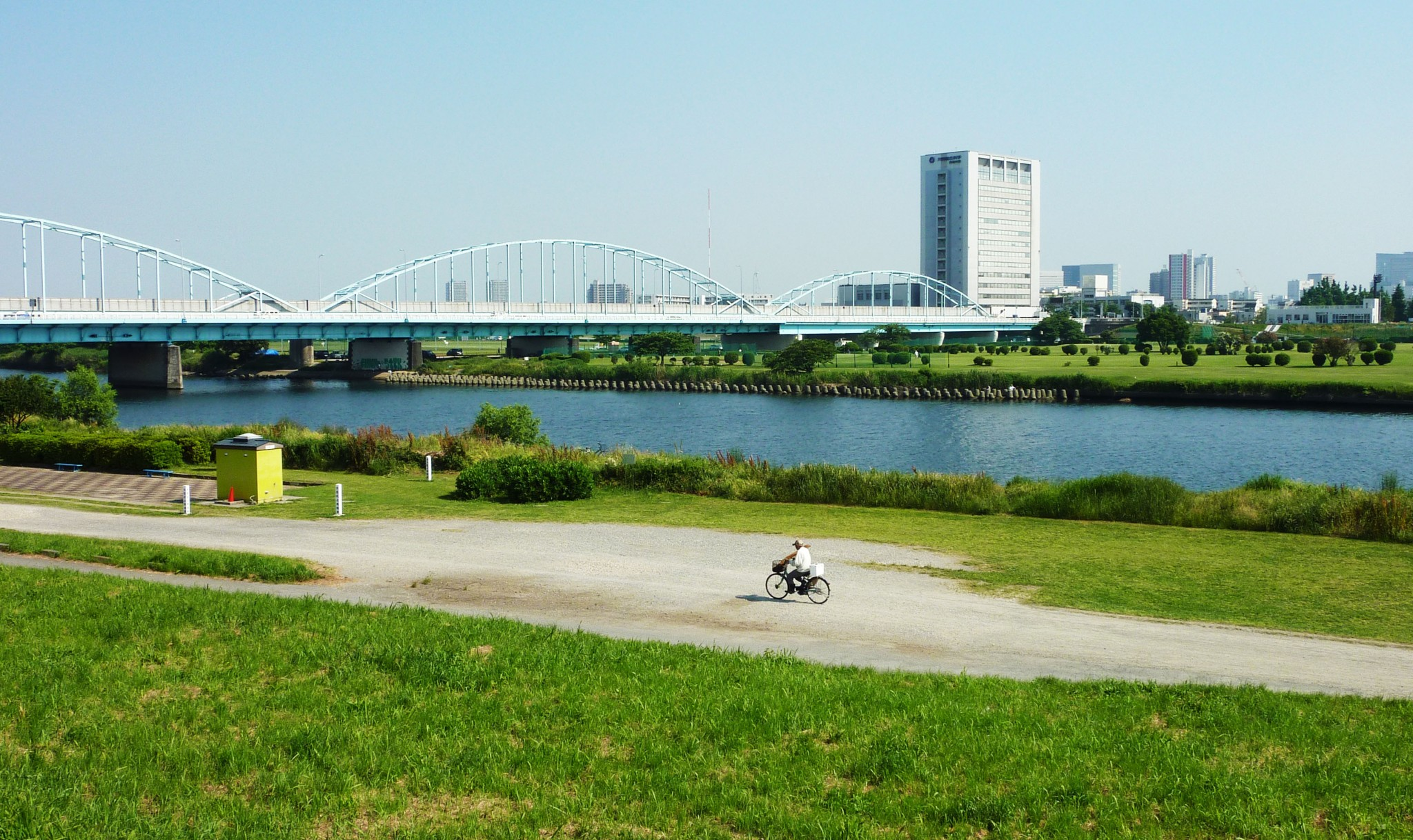 A Stroll Along the Tama River