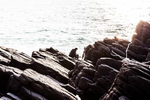 Tojinbo cliff looks so rocky