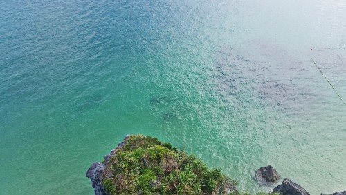 Beautiful sea in Onna-son, Okinawa