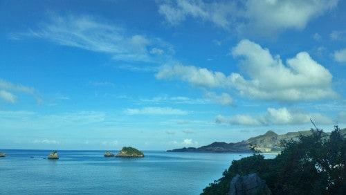 Cape Menza in Okinawa