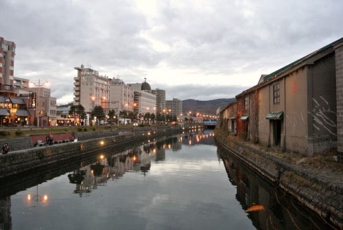 One of Otaru's most famous attractions is the Otaru Canal.