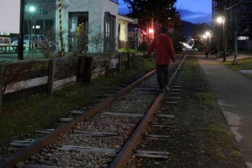 Former Temiya Railway Line in Otaru, Hokkaido