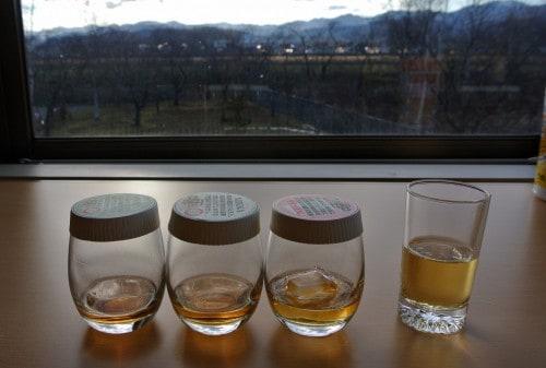 Japanese whiskey tasting room at Yoichi