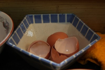 Cracked Eggshells from my Jajamen