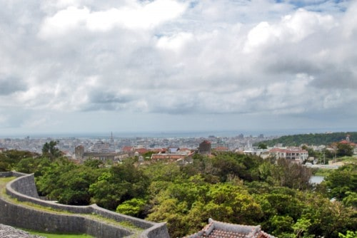 A view from Shuri castle