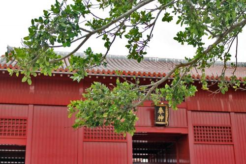 Beautiful Red residence, Shuri castle