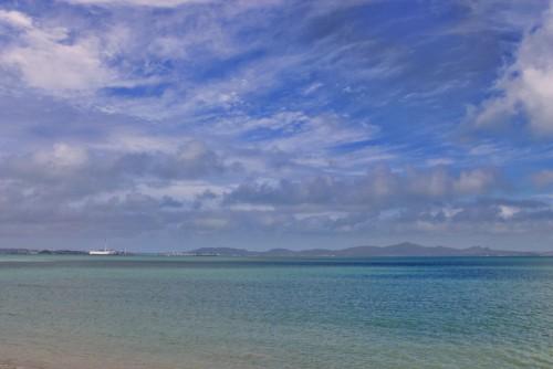 Beautiful sea in Okinawa island!