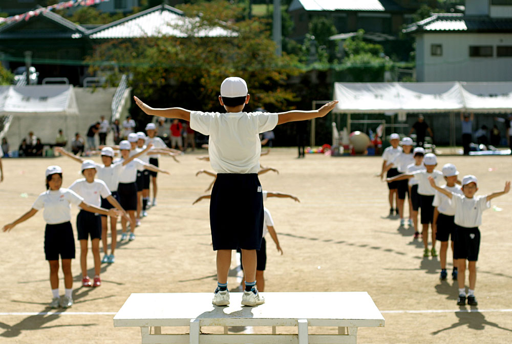Japan's Historical Radio Taiso Workout