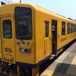 Ride a Local Train Carriage with the Shimatetsu in Nagasaki