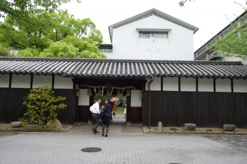 Here is the entrance to the japanese sake seller