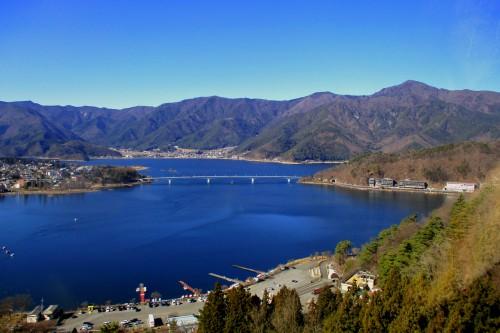 Mt. Fuji View Lake Kawaguchiko Yamanashi Prefecture Kachi Kachi Ropeway Mt. Tenjo Folktale