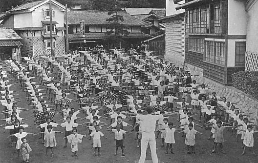 radio taiso, 1930s