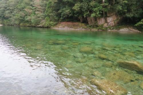 Beautiful river on the way to Jomon Sugi, in Yakushima, Kagoshima, Japan.