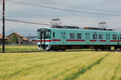Nishitetsu train also takes you rural sites in Fukuoka!
