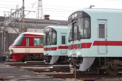 Nishitetsu train is a key transportation way in Fukuoka