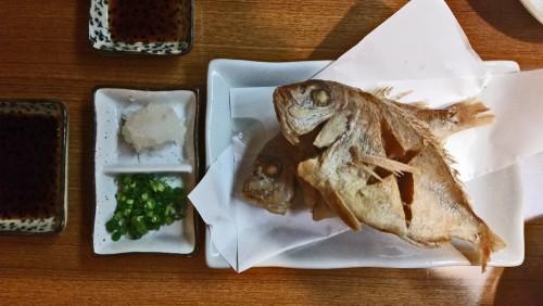 Those dishes were served in Izakaya in Okinawa